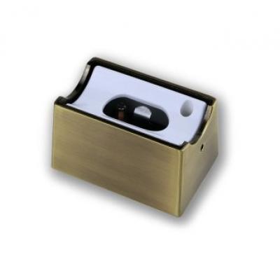 Fassung Linienlampe für Osram Linestra Ralina S14d ein Sockel Bronze