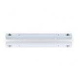 Fassung Linienlampe für Osram Linestra Ralina 60W S14s zwei Sockel 500mm weiß