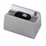 Fassung Linienlampe für Osram Linestra Ralina S14d ein Sockel silber