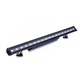 LED RGB Wallwasher Berlin Fassadenbeleuchtung 56W IP66 DMX Steuerung 60°