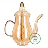 Bailey Teapot Teekanne LED Lampe Chai Gold E27 4W 2200K Dimmbar